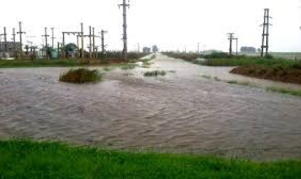 Inundaciones en Villegas