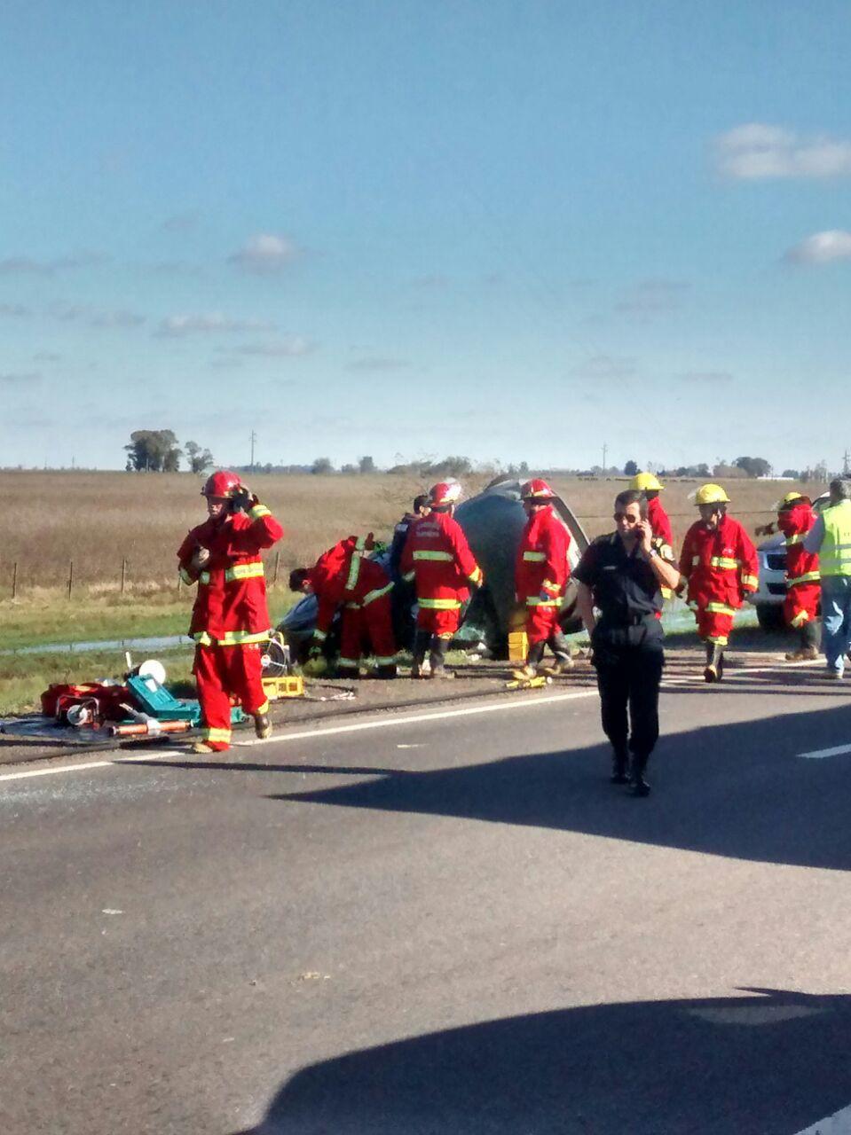 accidente ruta 5 suipacha