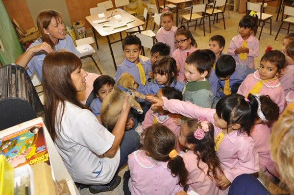 Es el dia de los jardines de infantes la trocha digital for Azul naranja jardin de infantes