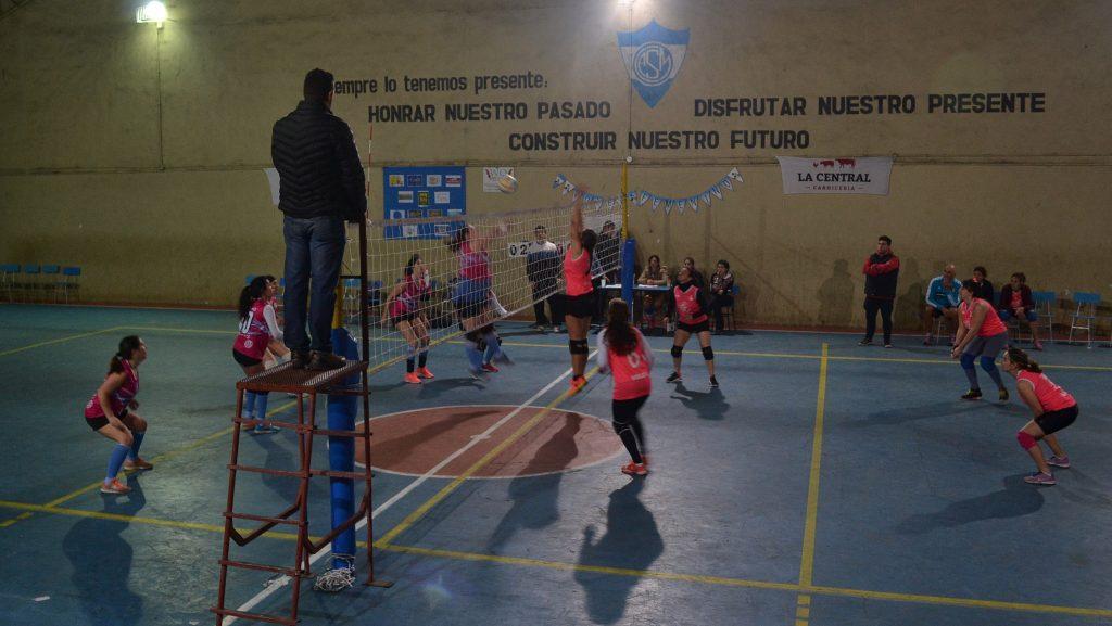 Partido entre Rivadavia de Junin y el CEF Juninese